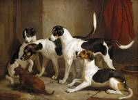 Thomas Woodward~The Puckeridge Foxhounds