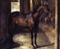Théodore Géricault~Anglo-Arabian Stallion In The I
