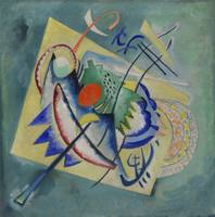 Vassily Kandinsky~Red Oval