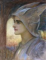William Blake Richmond~St Joan of Arc