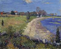 William James Glackens~Curving Beach, New England