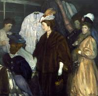 William James Glackens~The Shoppers