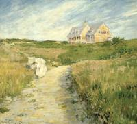William Merritt Chase~The Chase Homestead, Shinnec