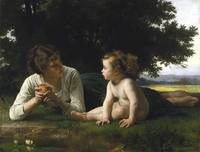 William-Adolphe Bouguereau~Temptation