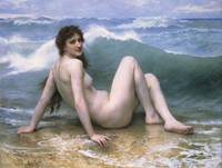 William-Adolphe Bouguereau~The Wave