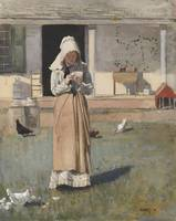 Winslow Homer~The Sick Chicken