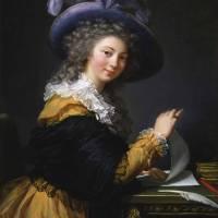Élisabeth Louise Vigée Le Brun~Portrait of Comtess Art Prints & Posters by fine masterpiece