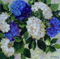 Dreams of Flying Blue Hydrangeas