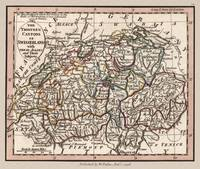Switzerland Cantons Old Map 1798
