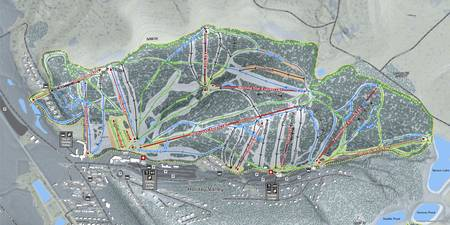 Holiday Valley Resort Trail Map