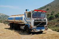 Fuel tanker lorry, Tilos