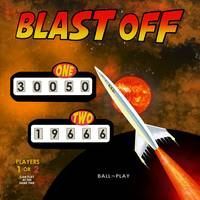 Blast Off Retro Pinball