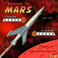 Mission To Mars Retro Pinball