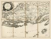 Map of Dalmatia, Croatia Coast & Islands (1780)