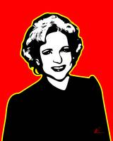 Betty White | Pop Art
