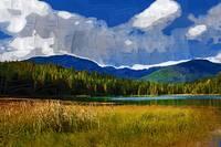 Mountain Lake by Kirt Tisdale