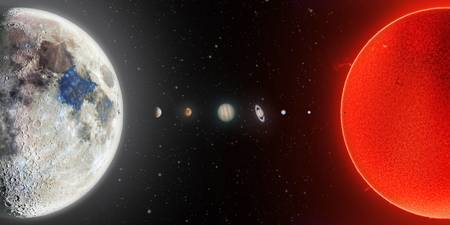 Our Solar System in 2020