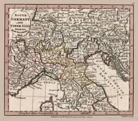 South Germany and Upper Italy Map 1804