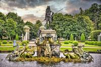 Neptune Fountain at Petrehof Palace