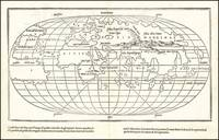 Important early map of the World, being the first