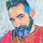 May 2020 Selfie Artist RD Riccoboni Self Portrait by RD Riccoboni