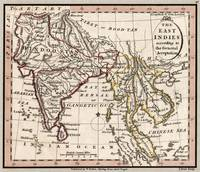 Indian Subcontinent Antique Map 1798