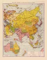 Map of Asia (1934)