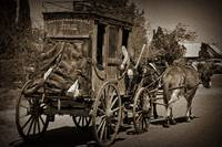 Tombstone Stagecoach by Kirt Tisdale
