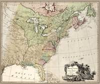 British Colonies in North America map 1777