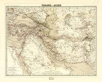 Map of the Middle East (1855)