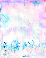 Abstract Painting Cotton Candy Store