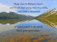 John Muir Poetry-Quotes Art Prints