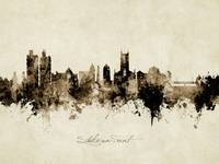 Stoke-on-Trent England Skyline