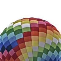 Rainbow Hot Air Balloon by Through The Split Window