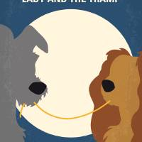 """No1194 My Lady and the Tramp minimal movie poster"" by Chungkong"