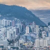 Aerial Cityscape Quito Ecuador Art Prints & Posters by Daniel Ferreira-Leites