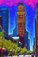 16th Street Pedestrian Mall In Denver by Kirt Tisdale