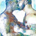 Kiss - Flower Bears by RD Riccoboni