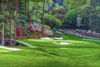 Augusta National Golf Masters Amen Golden Bell 12