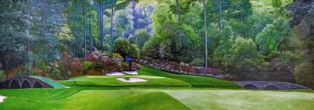 Augusta National Golf Club Masters Amen Corner Hol