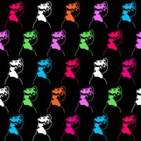Madonna Pattern | Pop Art