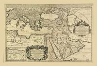 Turkey, Ottoman Empire Map (1680)