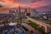Cleveland Skyline Aerial Flats by Cody York_0483