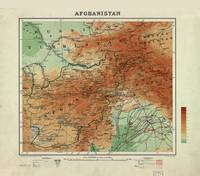 Map of Afghanistan (1912)