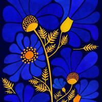 """""""Wildflower Garden"""" by moderntropical"""
