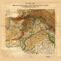Map of Afghanistan & Pakistan (1842)