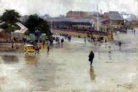 Arthur Streeton The Railway Station, Redfern