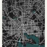 City of Baltimore Map Prints & Posters