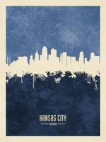 Kansas City Missouri Skyline