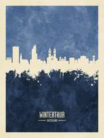 Winterthur Switzerland Skyline